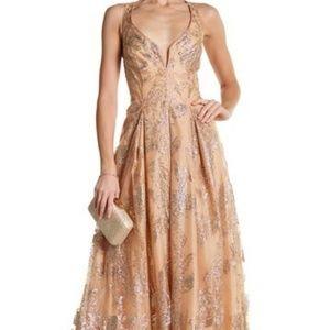 Gold Marina Dress